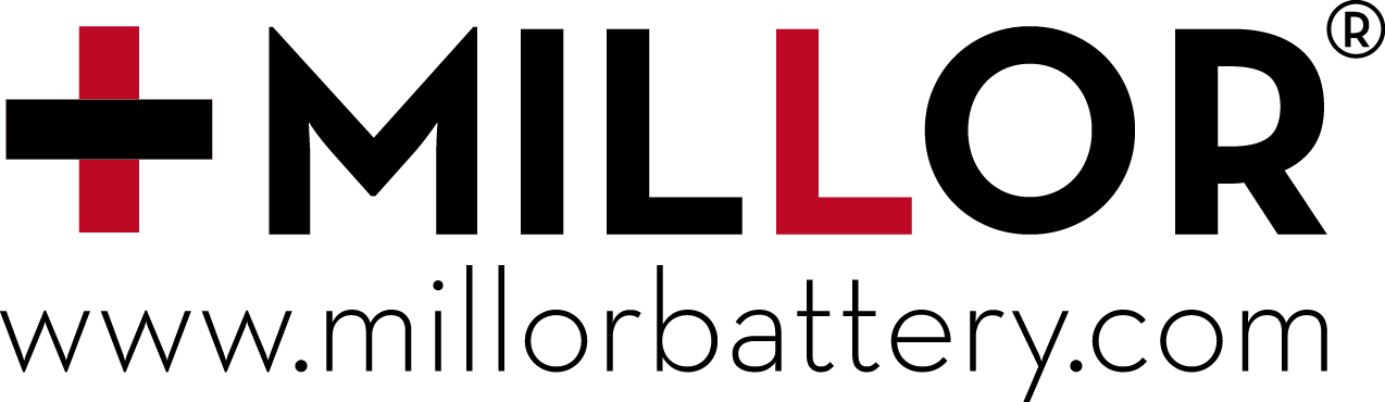 Logotipo MILLOR BATTERY