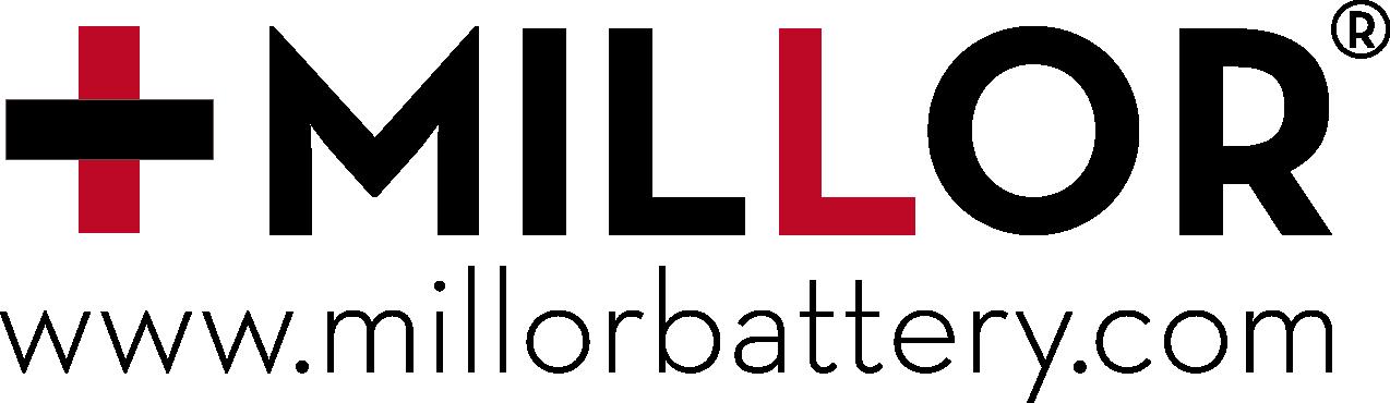 Logotipo MILLOR BATTERY